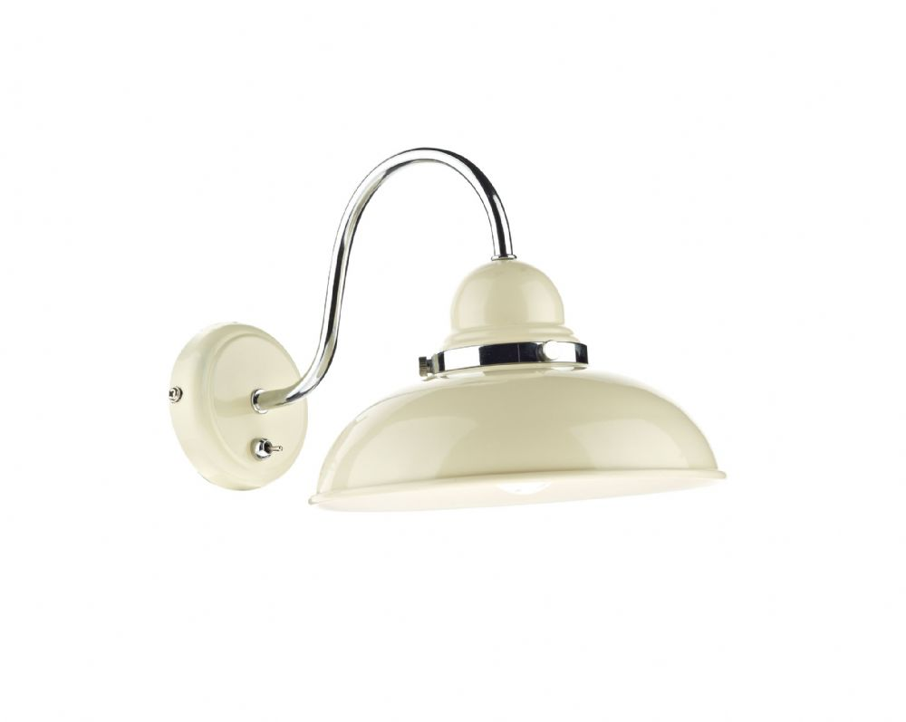 Dynamo 1-light Double Insulated Cream Wall Light (Class 2 Double Insulated) BXDYN0733-17